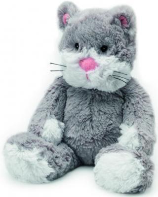 Мягкая игрушка-грелка кот Warmies Cozy Plush Кот текстиль серый CP-CAT-2 warmies игрушка грелка cozy plush кот