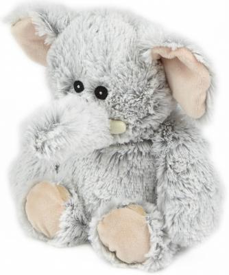 Мягкая игрушка-грелка слон Warmies Cozy Plush Слон текстиль искусственный мех серый CPM-ELE-1