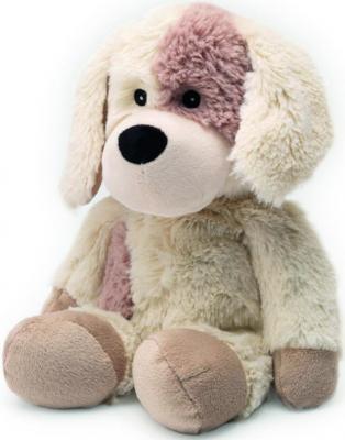 Мягкая игрушка-грелка собака Warmies Cozy Plush Собачка текстиль искусственный мех бежевый CP-PUP-2 грелки warmies cozy plush игрушка грелка полярный мишка