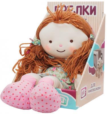 Мягкая игрушка-грелка Warmies Warmhearts - Кукла Элли текстиль разноцветный 30 см RD-ELL-1