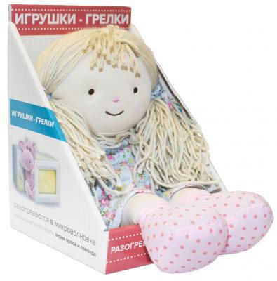 Мягкая игрушка-грелка Warmies Warmhearts - Кукла Оливия текстиль разноцветный 30 см RD-OLI-1