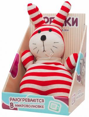Мягкая игрушка-грелка Warmies Socky Dolls - Кролик Банти текстиль разноцветный SOC-BUN-1 warmies w16011486903