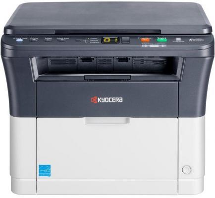 МФУ Kyocera FS-1020MFP ч/б A4 20ppm 1800x600 dpi 64Mb USB 2.0