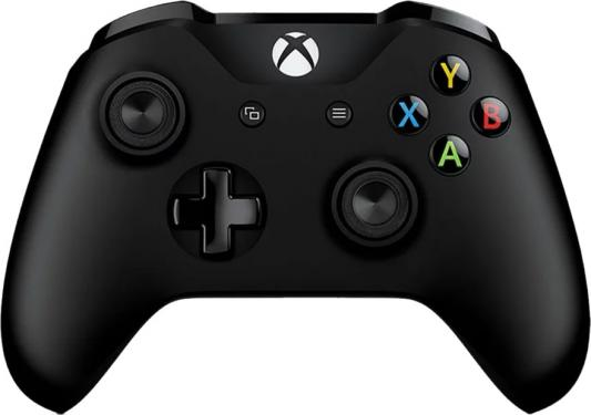 Геймпад Microsoft для Xbox One черный 6CL-00002 геймпад microsoft xbox one controller black cable 4n6 00002