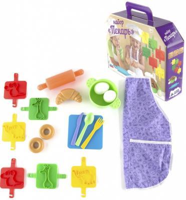 Игровой набор Пластмастер Пекарь 17 предметов 22036