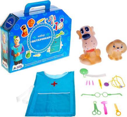 Игровой набор Пластмастер Ветеринар 13 предметов игра развивающая пластмастер набор маленький повар