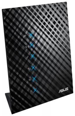Беспроводной маршрутизатор ASUS RT-AC52U B1 802.11aс 733Mbps 2.4 ГГц 5 ГГц 4xLAN USB черный
