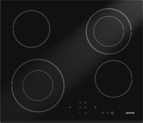 Варочная панель электрическая Gorenje ECT640CSC черный неисправносное оборудование варочная панель электрическая gorenje ect693orab черный
