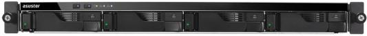 Сетевое хранилище Asustor AS-6204RD 4 отсека NAS Celeron 4Gb DDR3 eSATA USB3.0 рэковое сетевое хранилище rack nas asustor as3202t 90ix00q1 bw3s10 90ix00q1 bw3s10