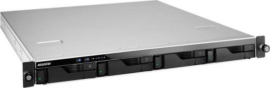 Сетевое хранилище Asustor AS-6204RD 4 отсека NAS Celeron 4Gb DDR3 eSATA USB3.0 от 123.ru