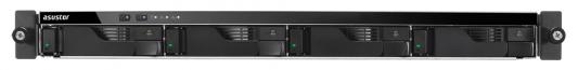 Сетевое хранилище Asustor AS-6204RS 4 отсека NAS Celeron 4Gb DDR3 eSATA 3xUSB3.0 new black 1m 3ft esata to esata 7 pin shielded external cable cord p10