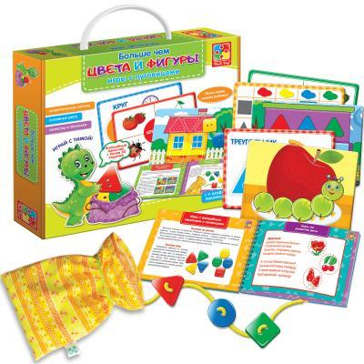 Настольная игра Vladi toys развивающая Больше чем цвета и фигуры VT2801-10 vladi toys настольная игра больше чем азбука vladi toys