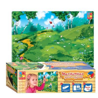 Магнитная игра Vladi toys развивающая Декорация VT3602-04 магнитная игра развивающая vladi toys домашние любимцы