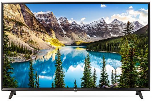 Телевизор LG 49UJ630V черный