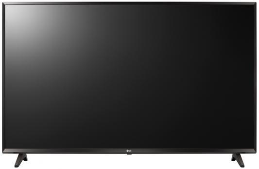 Телевизор LG 43UJ630V черный