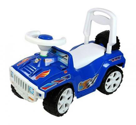 Каталка-машинка Orion Ориончик пластик от 2 лет на колесах синий  419_синяя