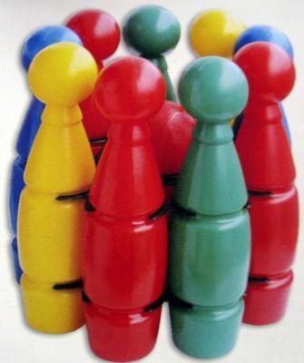 Спортивная игра спортивная NINA Кегли большие Супер  N-00143