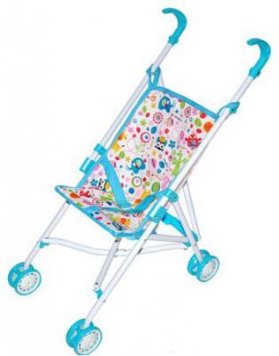 Коляска-трость для кукол Mary Poppins Фантазия, голуб., 41*28*56 см 67319 mary poppins коляска люлька для кукол для кукол фантазия цвет малиновый