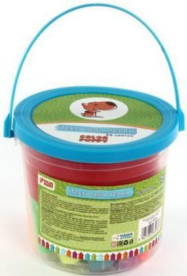 Тесто для лепки Color Puppy 26 цветов, 442г, формы, ролик 63936 color puppy тесто для лепки 26 цветов 442г формы ролик