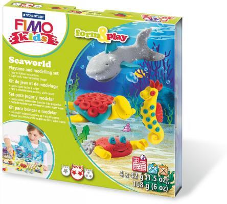 """Набор для лепки из полимерной глины FIMO kids form&play """"Подводный мир"""" 8034 14 LZ от 123.ru"""