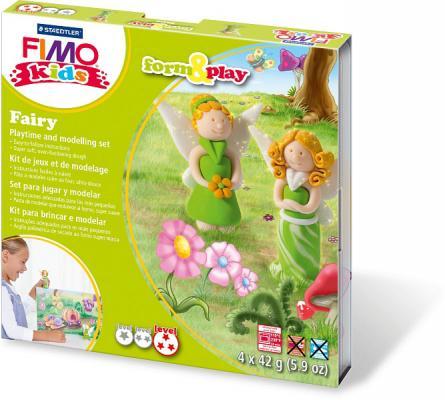 Набор для лепки из полимерной глины FIMO kids form&play Фея 8034 04 LZ от 123.ru