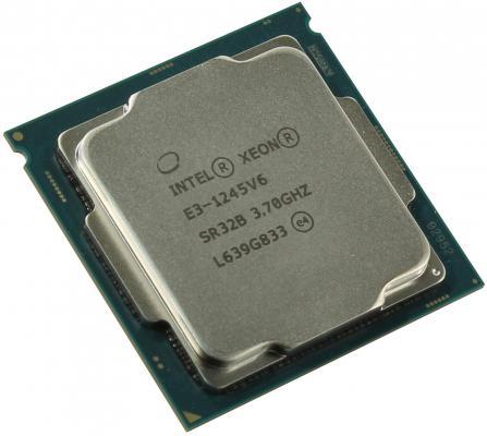 Процессор Intel Xeon E3-1245v6 3.7GHz 8Mb LGA1151 OEM цены онлайн