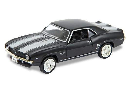 Автомобиль Hoffmann Chevrolet Camaro SS 1:32 черный игрушка hoffmann germany fury 65681