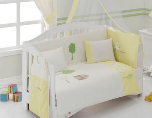 Комплект постельного белья 3 предмета KidBoo Fluffy Sheep