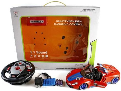 Машинка на радиоуправлении Shantou Gepai Sportcar красный от 5 лет пластик 767-AR5 врумиз машинка со звуковыми и световыми эффектами люси врумиз