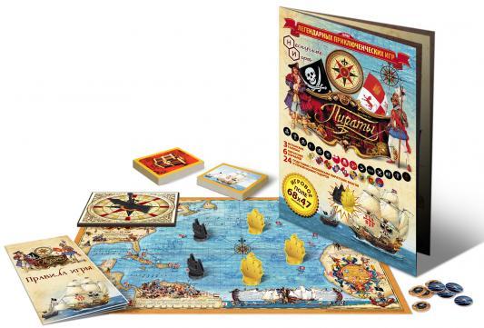Купить Настольная игра Нескучные игры развивающая Пираты , Размер игрового поля: 68 х 47 см., Развивающие настольные игры