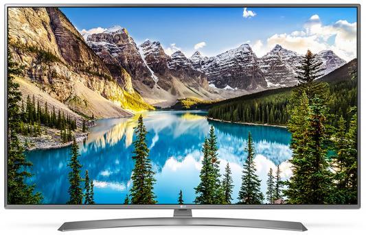Телевизор LG 43UJ670V серый пылесос lg vc53202nhtr