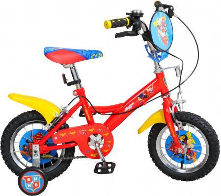 Велосипед Navigator Super Hero Girls ВН14157 14 разноцветный двухколесные велосипеды navigator super hero girls 16
