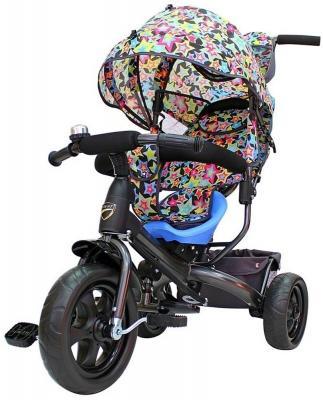 Велосипед RT Galaxy Лучик VIVAT 10/8 разноцветный велосипед rt galaxy лучик vivat дизайн круги 10 8 разноцветный