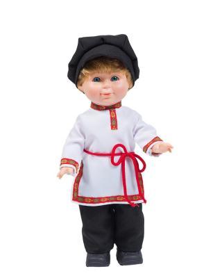 Кукла ВЕСНА Митя в русском костюме 34 см со звуком В2862/о кукла весна 35 см