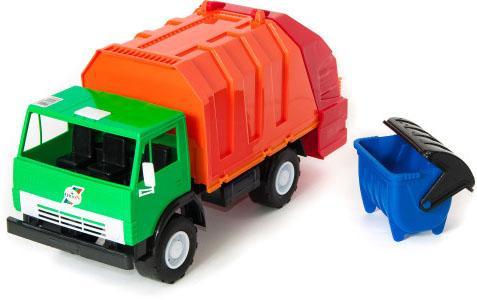 Мусоровоз Orion Мусоровоз Х2 разноцветный в ассортименте 273 мусоровоз лена 3х осный 23 см разноцветный 8812