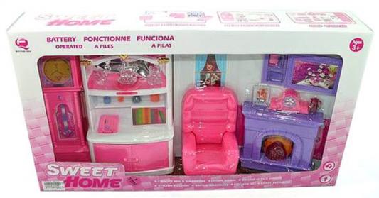 Набор мебели Shantou Gepai Моя гостиная, розовая, свет, звук, коробка 25298P