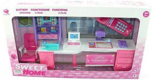 Набор мебели Shantou Gepai Мой кабинет, розовый, свет, звук, кор. 25338P