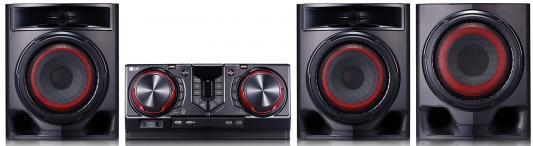 Минисистема LG CJ45 720Вт черный минисистема lg cj45