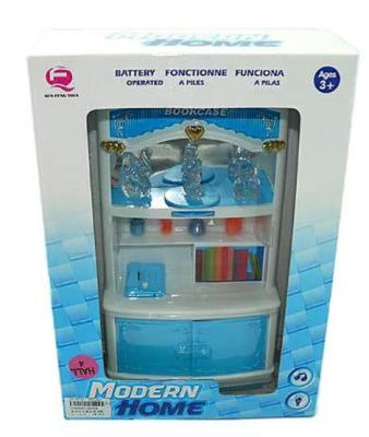 Шкаф Моя комната, голубой, свет, звук, кор. 2540B