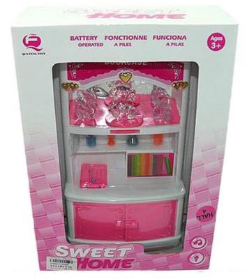 Шкаф Моя комната, розовый, свет, звук, кор. 2540P