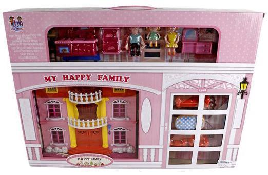 """Дом для кукол Shantou Gepai """"Моя счастливая семья"""" 201"""