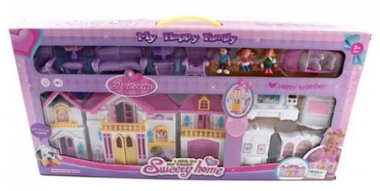 Дом для кукол Shantou Gepai Моя счастливая семья WD-922E
