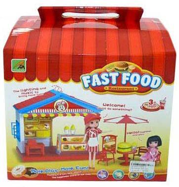 """Игровой набор Shantou Gepai """"Ресторан быстрого питания"""" 2355-3"""
