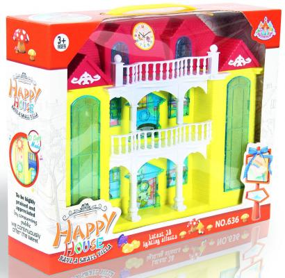 Дом для кукол Shantou Gepai Двухэтажная усадьба 636 дом для кукол shantou gepai cute house 13631a