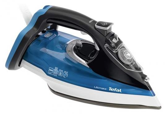 Утюг Tefal FV9715E0 2200Вт синий чёрный цены