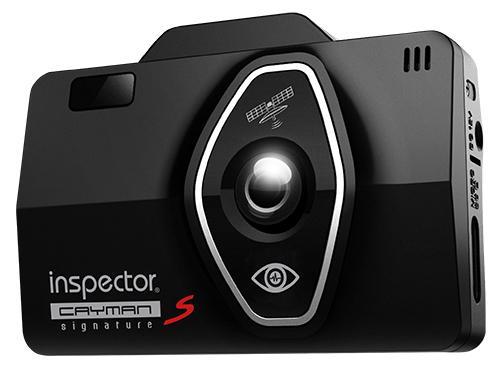 "Видеорегистратор Inspector Cayman S 2.4"" 1920x1080 130° microSD microSDXC датчик удара черн"
