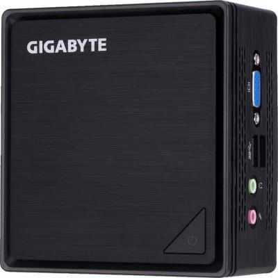 Неттоп GigaByte BRIX Intel Celeron-N3350 Intel HD Graphics 500 Без ОС черный GB-BPCE-3350C настольный компьютер gigabyte brix gb bace 3000