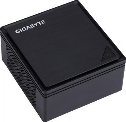 Неттоп GigaByte BRIX Intel Celeron-N3350 Intel HD Graphics 500 Без ОС черный GB-BPCE-3350C