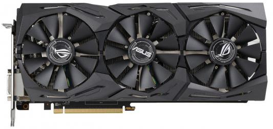 Видеокарта ASUS Radeon RX 580 ROG-STRIX-RX580-T8G-GAMING PCI-E 8192Mb 256 Bit Retail (ROG-STRIX-RX580-T8G-GAMING)