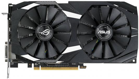 Видеокарта ASUS Radeon RX 580 DUAL-RX580-O8G PCI-E 8192Mb 256 Bit Retail (DUAL-RX580-O8G) видеокарта 8192mb asus rx580 pci e dvi hdmi dp hdcp rog strix rx580 o8g gaming retail